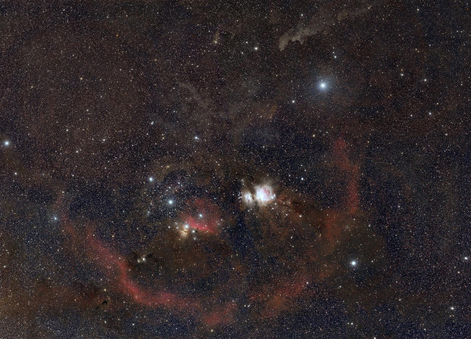 Constelación de Orión – final