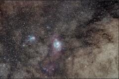 Nebulosa de la Laguna y Trífida