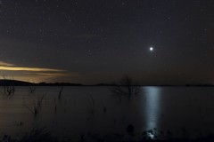Venus y su resplandor