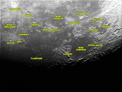 Luna con referencias