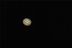 Jupiter + 2 lunas 23/03/2017