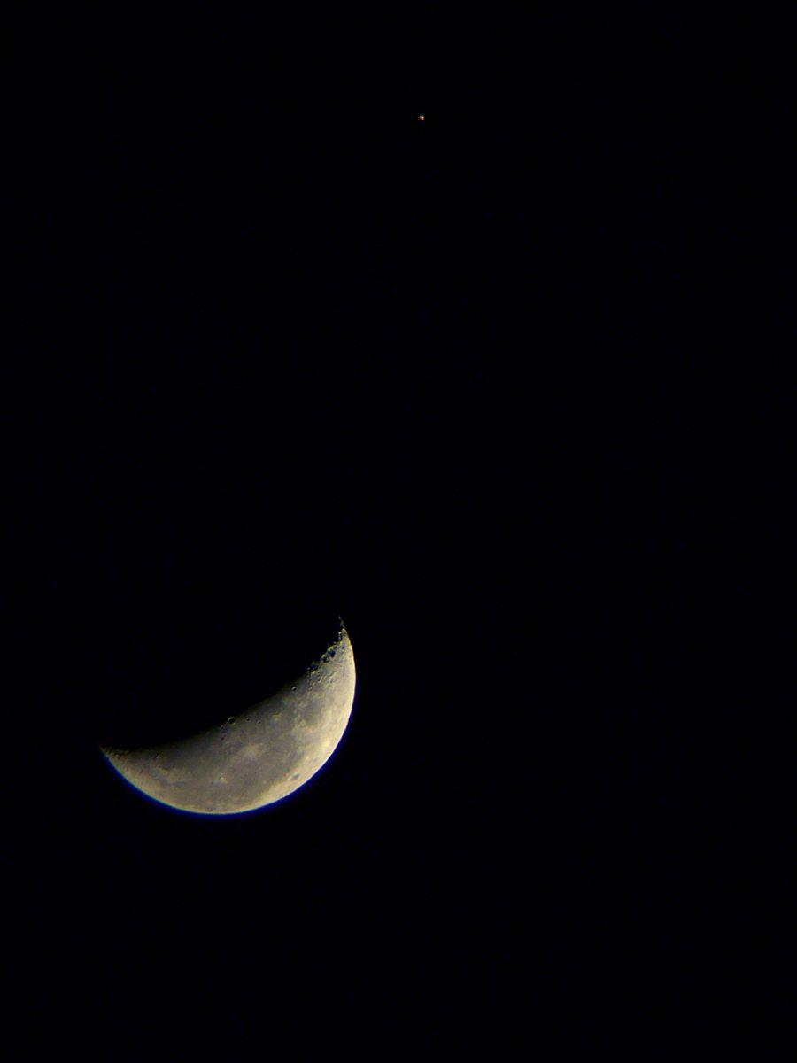 Luna - Aldebarán a 2 grados