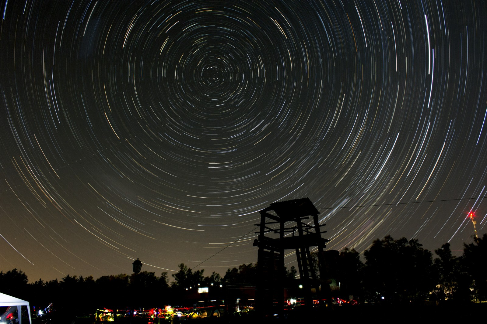Star Trails en Doyle