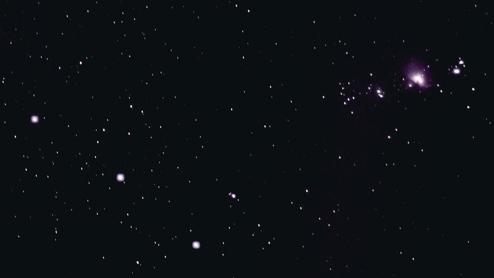 Constelación de Orion y M42