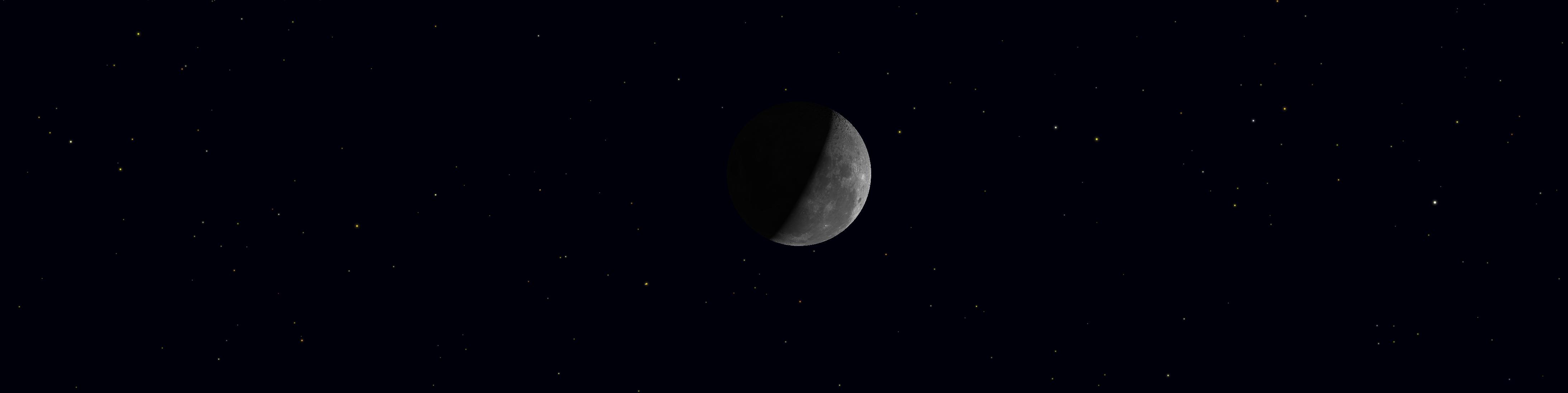 Luna en Cuarto Menguante - Fases Lunares - Astronomia ...